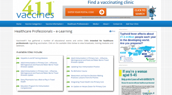 Vaccines411 and iMD Health continue to develop partnership to enhance physician education!