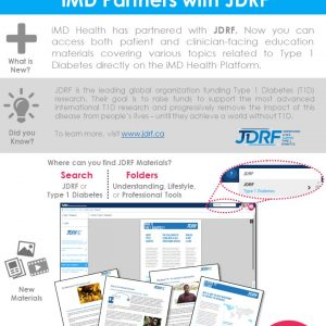 Change to: iMD Welcomes: JDRF