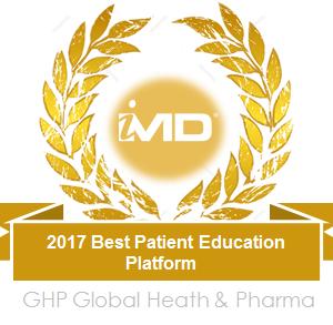 2017 Healthcare & Pharmaceutical Award: Best Patient Education Platform