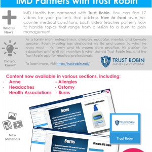 New Partnership Alert! iMD Partners with Trust Robin