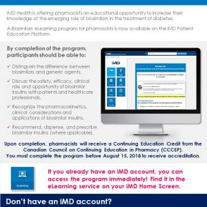 Biosimilars Pharmacist Course Now Available on iMD Health