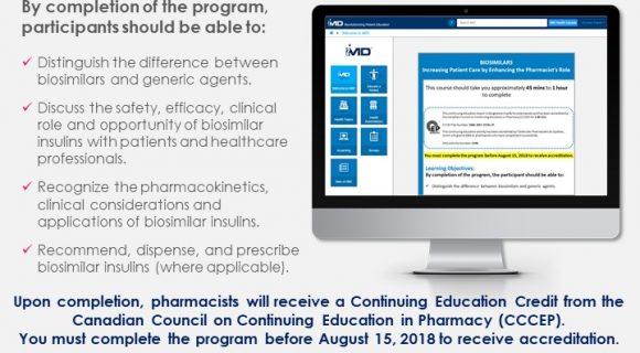 Biosimilars Pharmacist Course Now Available on iMD Health