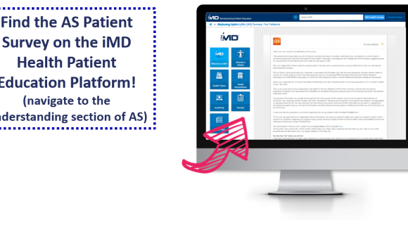 New Survey: Ankylosing Spondylitis Patient Survey Now on iMD