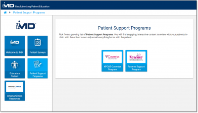 Our new Patient Support Programs