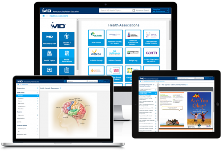 iMD Health library of mental health resources