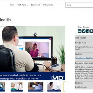 iMD Health is now featured on Lumino Health