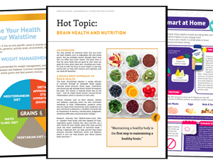 Biweekly iMD Update: Educate your patients about the importance of maintaining a healthy diet