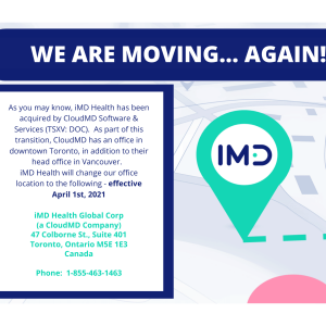 iMD Has Moved… Again!